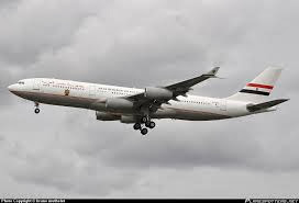 Egypt Official Presidential Plane