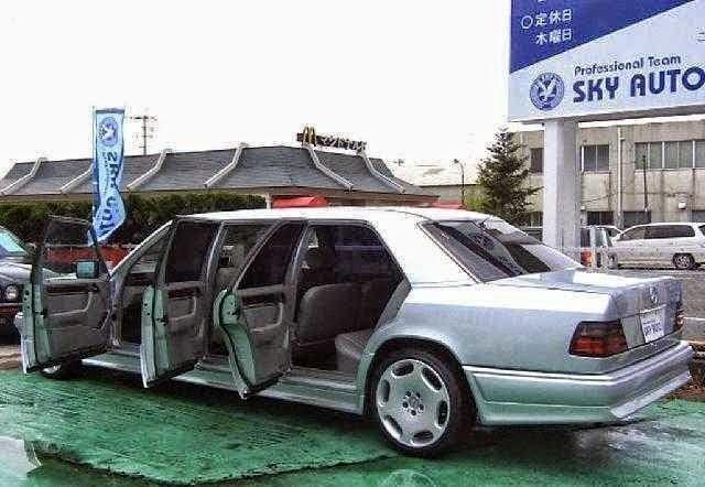 benztuning mercedesbenz w124 limousine