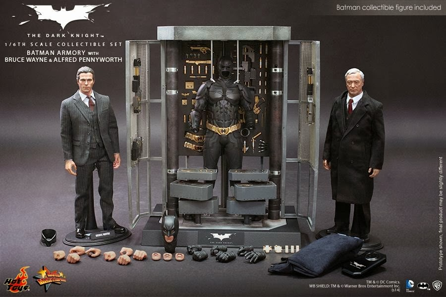 bruce wayne hot toys batman