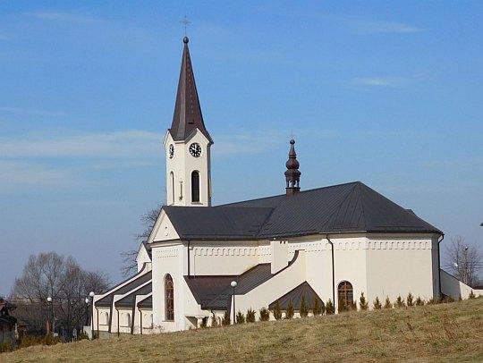 Kościół pw. Matki Boskiej Pocieszenia w Straconce z 1873 roku.