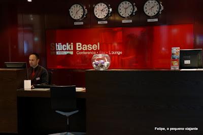 Hotel Stücki, em Basel - dica de hospedagem na Suíça