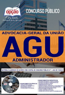 Download Apostila Concurso AGU 2018 PDF