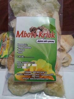 Keripik Mbote Original