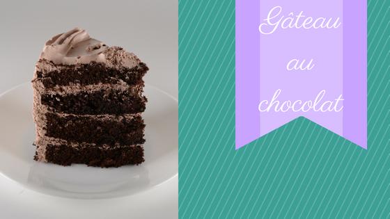 Gâteau de base au chocolat