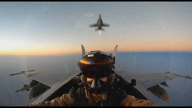 VIDEO - F/A-18 SUPER HORNET HI-SPEED LOW LEVEL