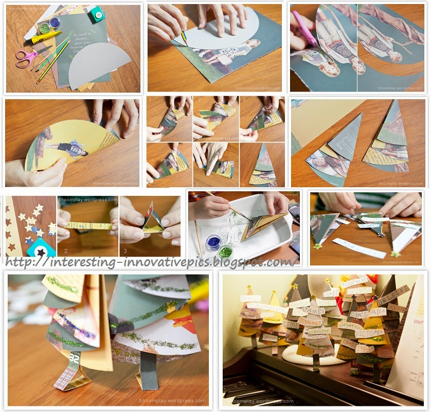 Waste newspaper crafts for Waste paper craft