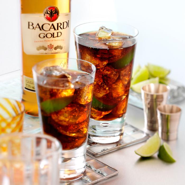 ingredients cuba libre cocktail