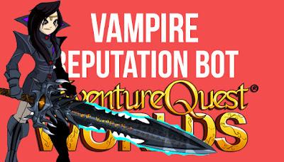 Fastest Vampire Rep Bot AQW Grimoire