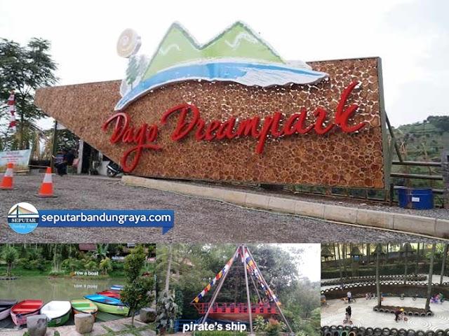 Wisata Anak, Adventure, dan Kuliner di Dago Dreampark