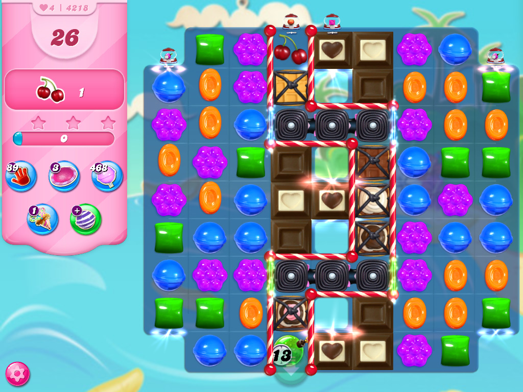 Candy Crush Saga level 4218