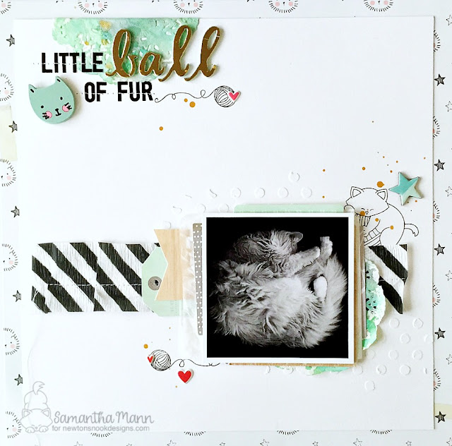 Cat Layout by Samantha features Newton Unwinds by Newton's Nook Designs, #newtonsnook