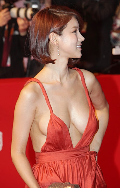 Oh In Hye 오인혜 Hot Red Carpet Dress Photos 15