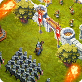 Lords & Castles - Medieval War Strategy MMO Games v1.54 Apk Mod