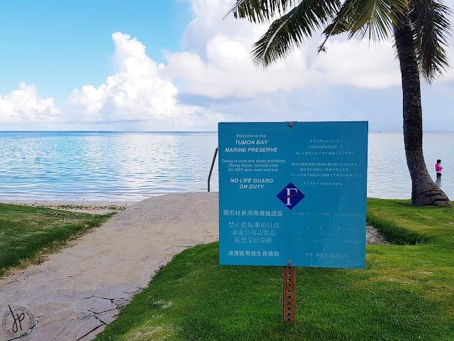 tumon bay, beach