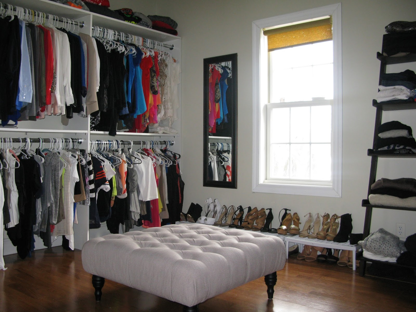 Turning a spare bedroom into a dressing room love and - Closet for small room ...