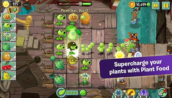 Download Gratis Plants vs Zombies  + Data v5.4.1 Android Terabaru 2016