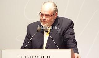 Ο Συντονιστής της Οργανωτικής Επιτροπής, κ. Γιώργος Χριστοδουλόπουλος, Πρόεδρος του Αρκαδικού Μουσείου Τέχνης και Ιστορίας