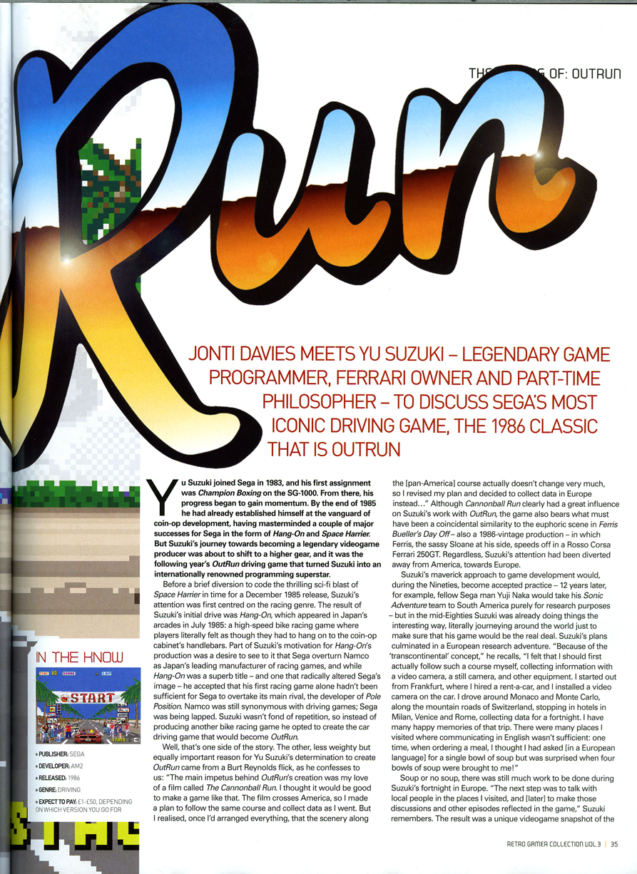 Summer Design Brief: Retro Gamer Magazine