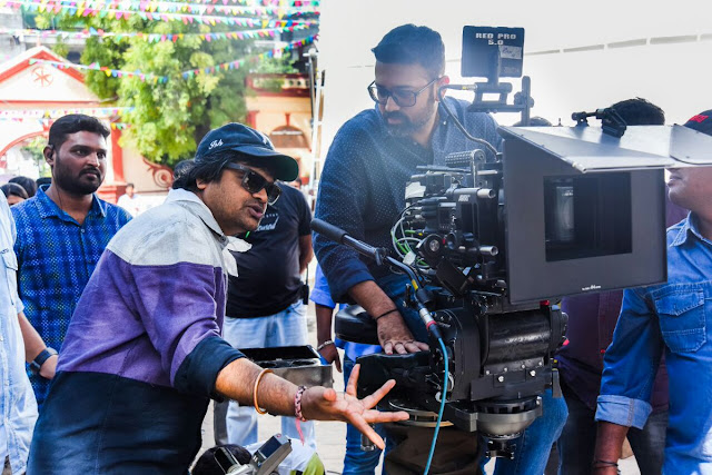 duvvada jagannadham movie working stills