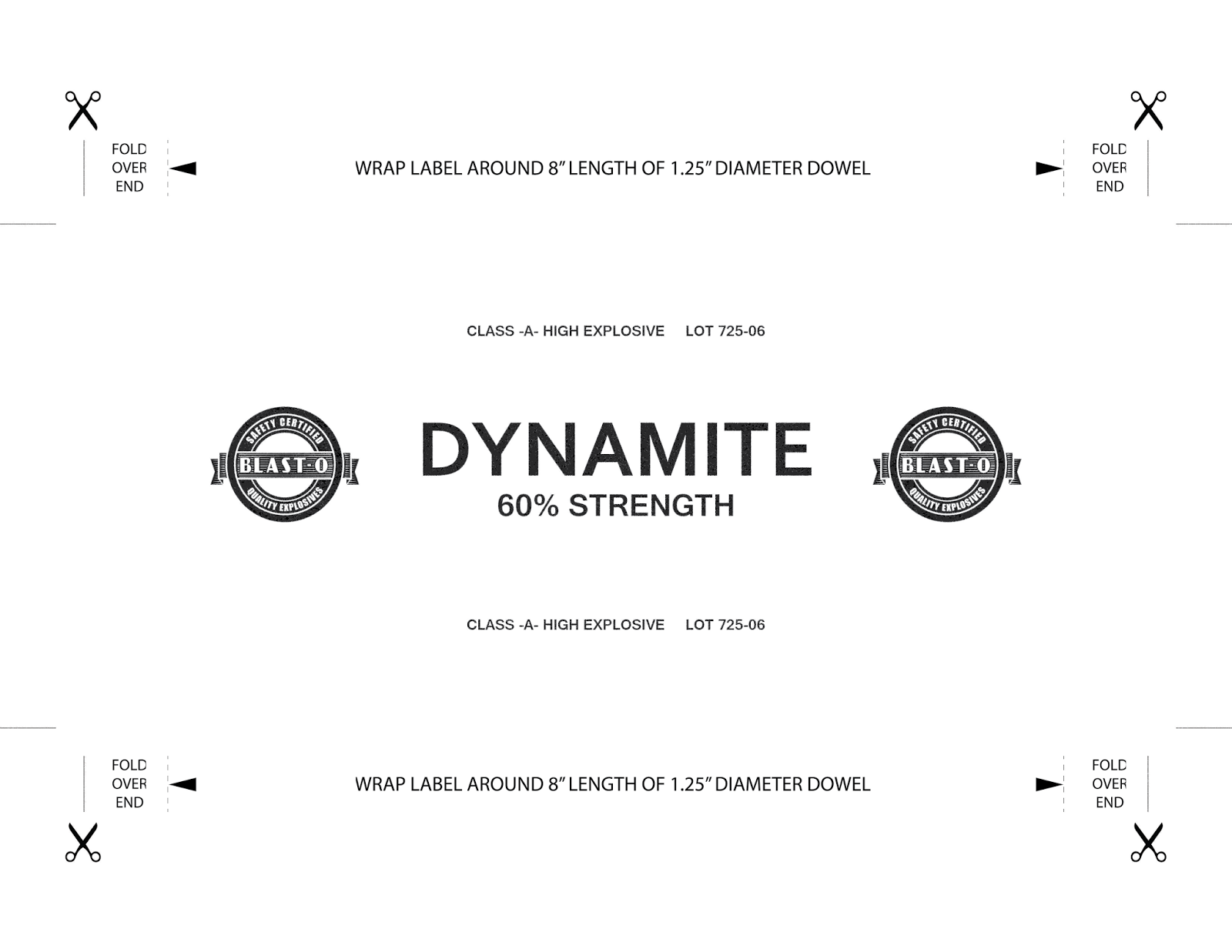 Propnomicon: Prop Dynamite Label