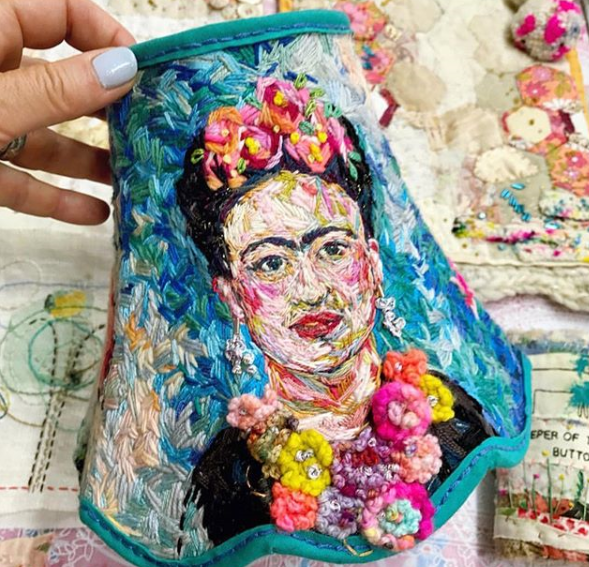 Instagram love: Embroidery Artist marnalunt