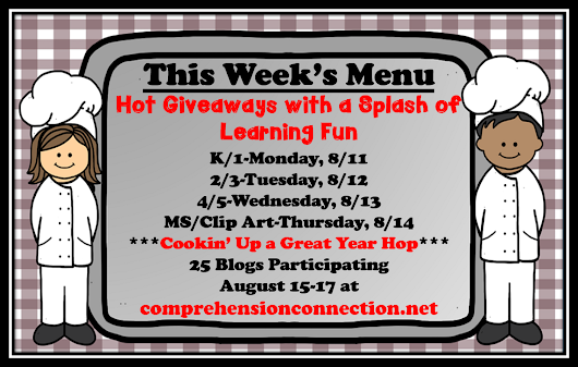 Comprehension Connection is Serving up some Sweet Treats!