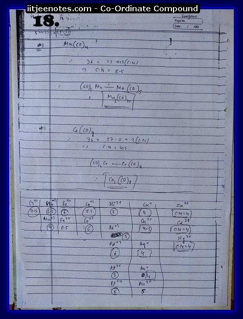 Coordinate Compound Notes3