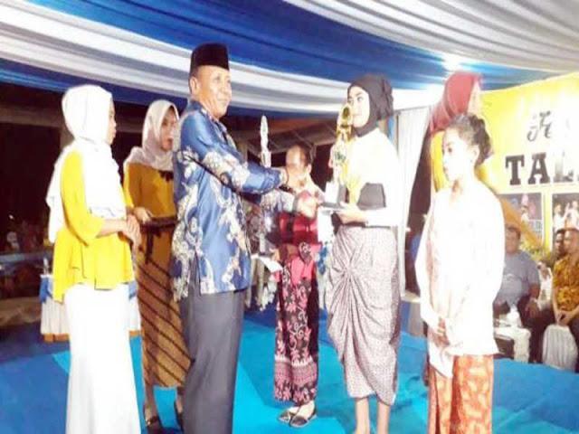 La Hudia Usman Tutup Festival Budaya Taliabu 2018