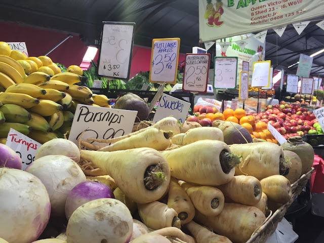Queen Victoria Market - Fresh Produce Section