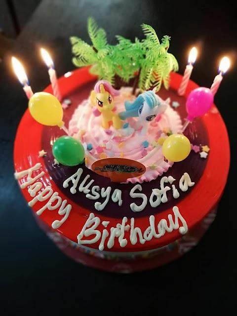 Selamat Ulangtahun Kelahiran Ke-Empat Alisya Sofia