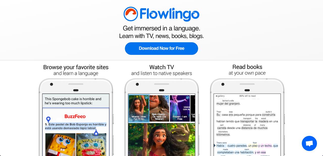 Flowlingo 背單字不用無聊字典,在手機常逛網站背英日韓單字