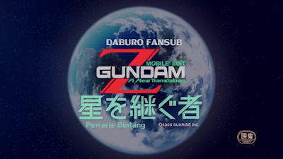 MS ZETA Gundam Movie 01 - Heirs to the Stars Subtitle Indonesia