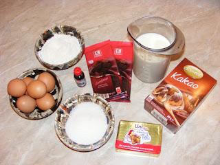 retete cu ciocolata lapte zahar cacao oua faina unt si rom, ingrediente dulciuri prajituri si deserturi de casa,
