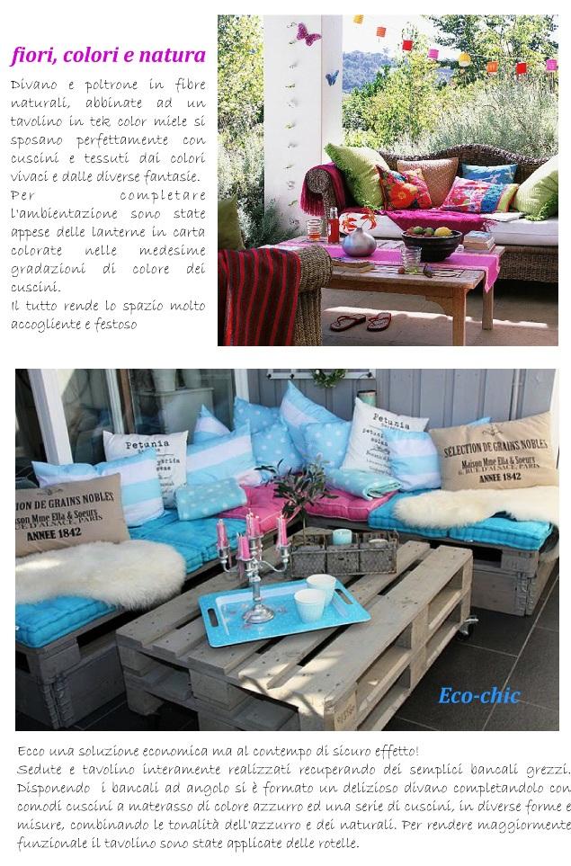 Colori pastello per gli spazi esterni blog di - Colori per esterni case ...