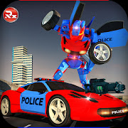 Police Robot Car Simulator APK unlimited