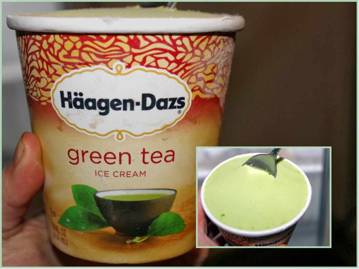 haagen daz green tea review