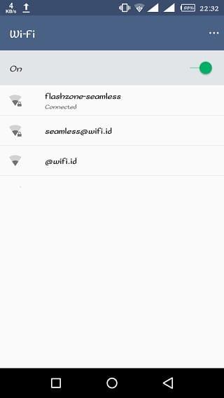 cara menggunakan flashzone seamless di Android