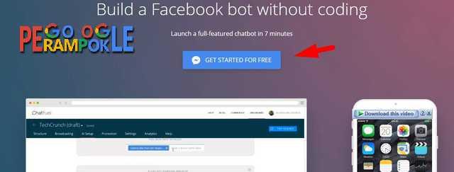 cara mudah membuat Bot Messenger fanspage facebook tanpa jago koding