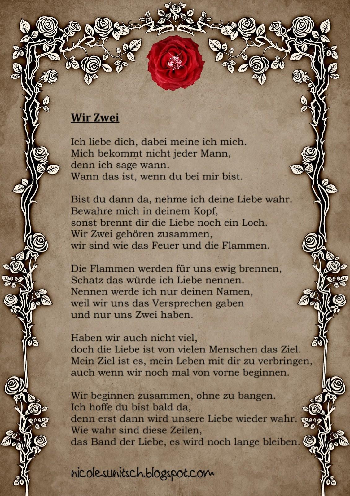 Ein Leben Nur Mit Dir Gedichte Abschiedsgedichte 2019 06 08
