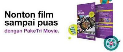 √ Cara Nonton Film dengan kuota tri Movie paket data tri movie 5