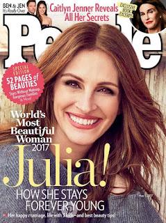 World's most beautiful person Julia Roberts