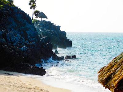 bliss beach, clothing optional, bliss, friends, plunge pool, paya bay resort, naturism,