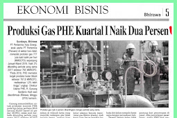 First Quarter PHE Gas Production Up Two Percent