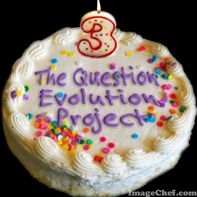 The Question Evolution Project's third anniversary is today