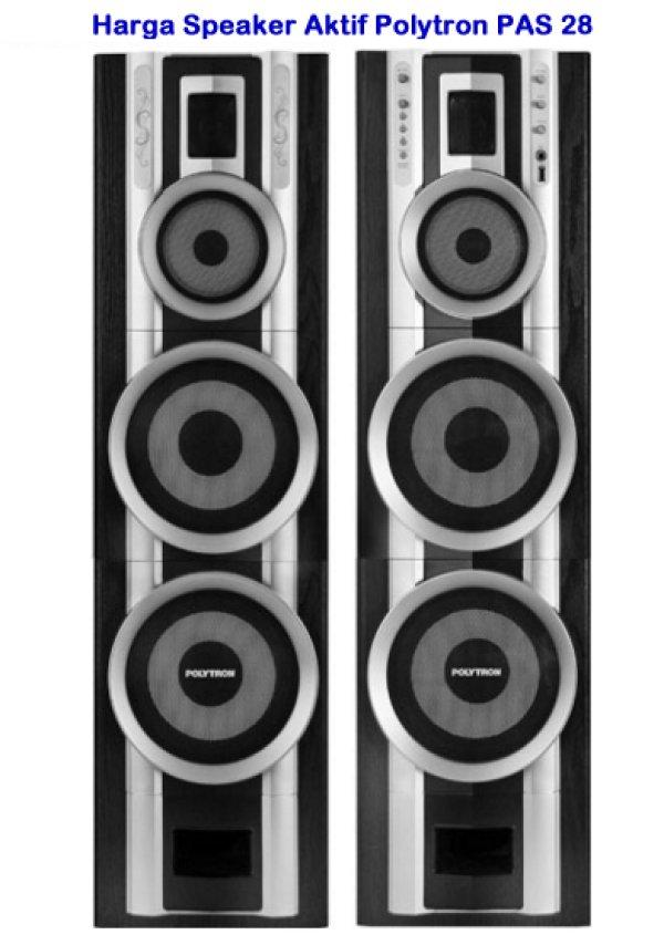 Review Harga Speaker Aktif Polytron PAS 28 Untuk Musik