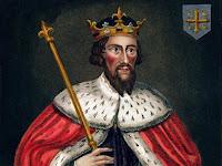 Retrato de Alfredo el Grande - Rey de Wessex