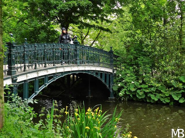 Vondelpark ponte amsterdam