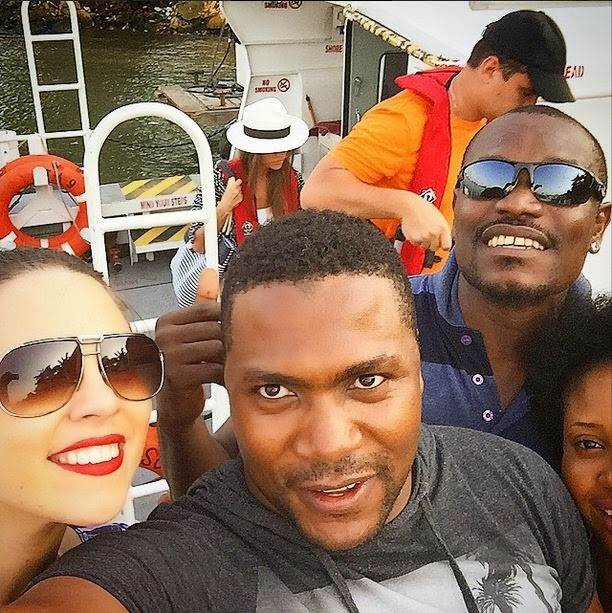 See actor Ik Ogbonna and wife, Sonia loved it up in