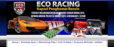 Jasa Blog Eco Racing Penghemat BBM