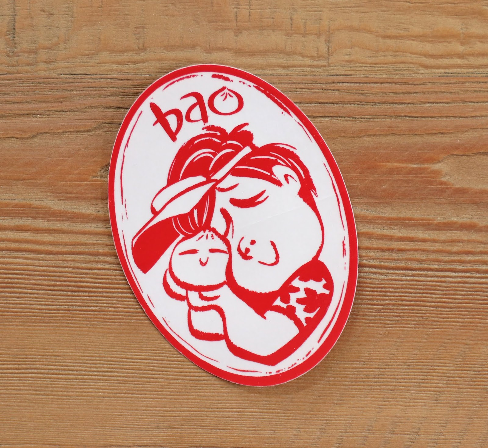 pixar bao sticker